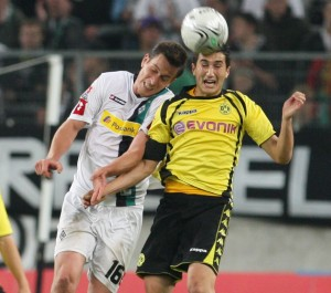 Nuri Sahin in the match against MG