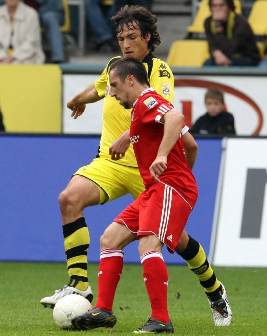 Hummels and Ribery