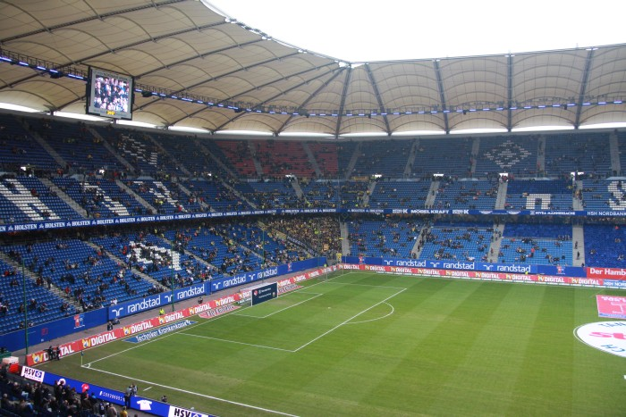 Second matchday - Borussia in Hamburg