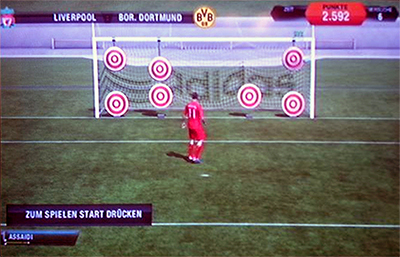 Neu in FIFA 13: Skill-Training vor dem Spiel