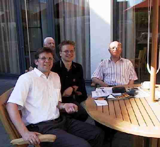 Wade, Guido und Adi Preissler