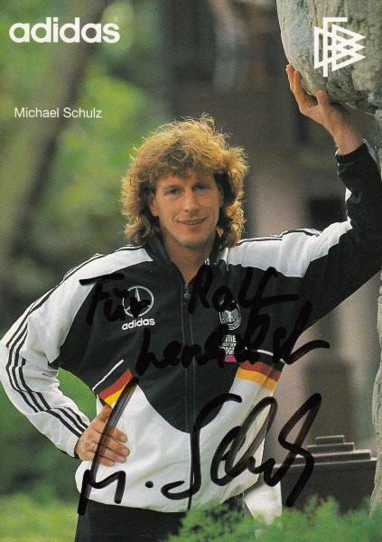 Michael Schulz im Trikot der Nationalmannschaft
