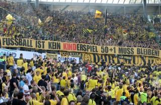 BVB-Fans und Ultras bezogen bereits klar Stellung zum Thema M. Kind