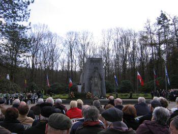 Czerkus Lauf 2010 - Gedenkveranstaltung am Mahnmal Bittermark