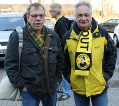 Rüdiger (links) und Wilfried (rechts)