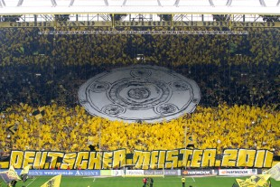 Alles für Borussia geben - gemeinsam