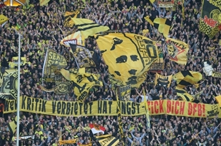 Protest gegen den DFB