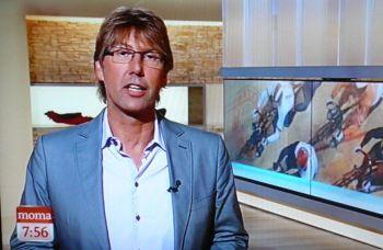 Peter Großmann kennt sich auch beim Bahnradfahren aus