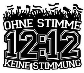 """Logo der Initiative """"Ohne Stimme keine Stimmung"""""""