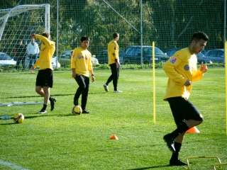 Trainingslager in Marbella 2009