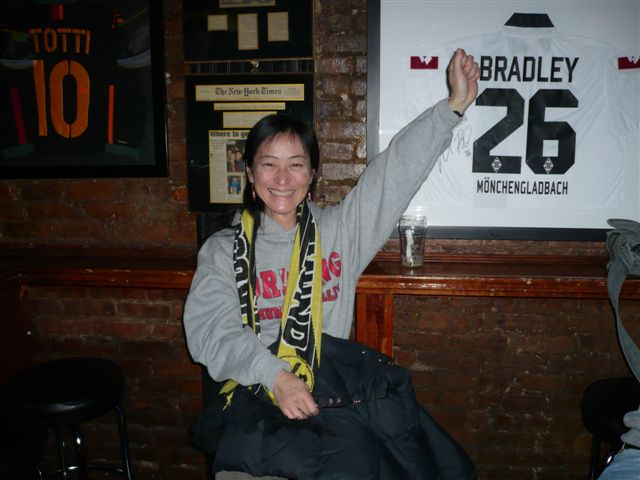 The japanese Dortmund (and Kagawa) fan Chikako