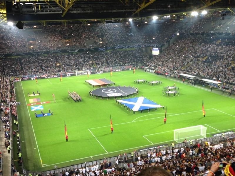 Eröffnungsshow in Dortmund