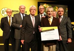 80 Jahre BVB-Mitglied: Paul Burchardt
