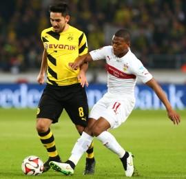 Ilkay Gündogan machte gegen den VfB ein gutes Spiel