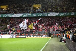 Die Stuttgarter Fans gehören sicherlich mit zu den aktivsten deutschen Fanszenen