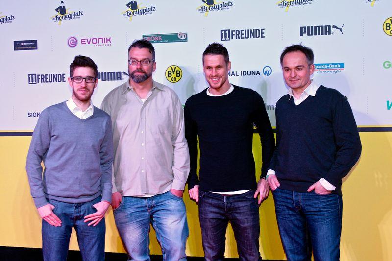 Jan, Marc und Gregor bei der Filmpremiere