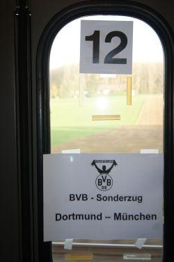 Stets unterwegs mit Borussia