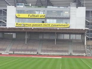 Das Westfalenstadion hat Samstag ein deutliches Zeichen gesetzt