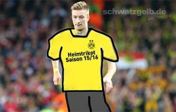 Jedes Jahr macht Borussia um das neue Trikot ein Riesenbohei
