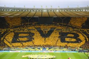 Das dritte Pokalfinale in Folge. Immer ist alles Gelb.