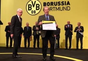 Wilhelm Burgsmüller wurde für 65 Jahre Mitgliedschaft geehrt