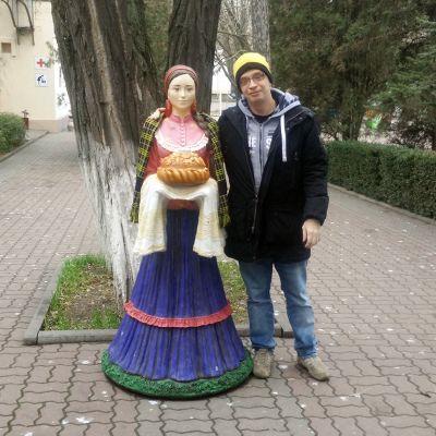 BVB-Fan Alexey in seiner Heimatstadt Rostow-am-Don
