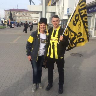BVB-Fan Valerij aus Armawir