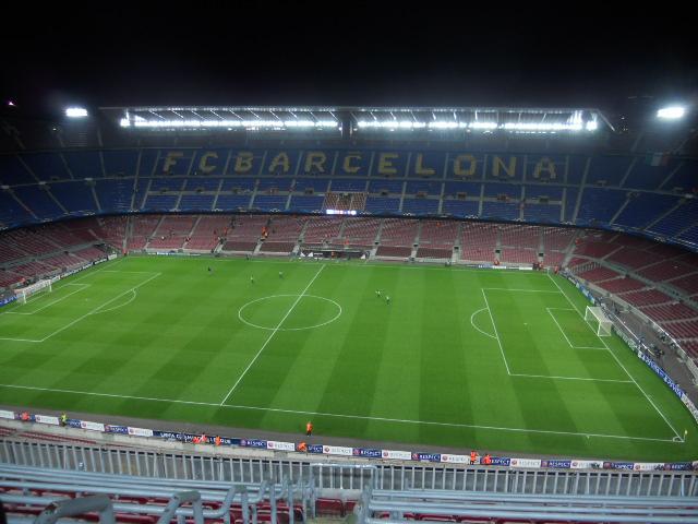 Das Camp Nou in Barcelona