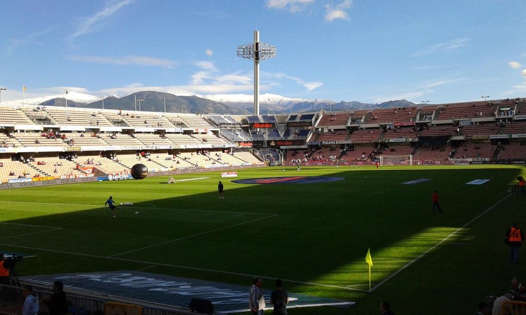 Estadio Nuevo Los Cármenes: Heimstätte des FC Granada