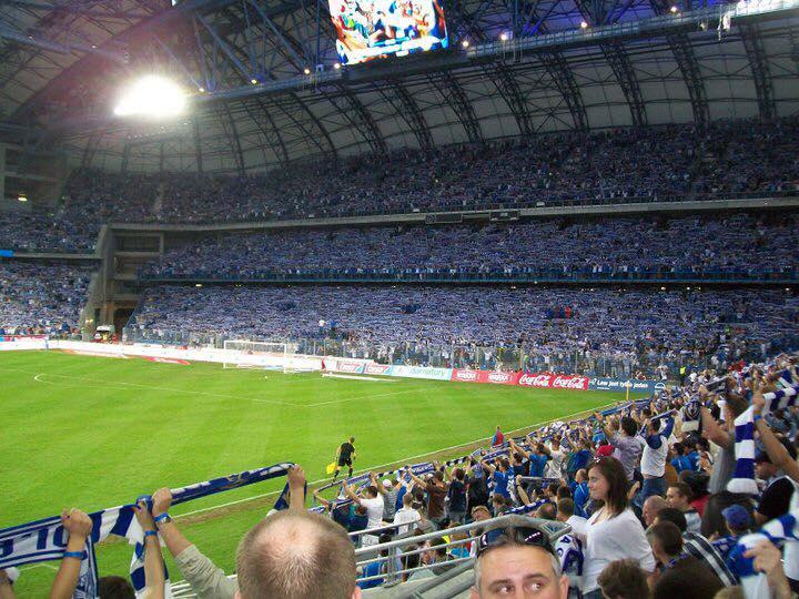 Spiel Lech gegen Borussia