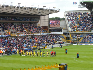 Das Jan-Breydel-Stadion, Heimstätte des Traditionsvereins Club Brugge