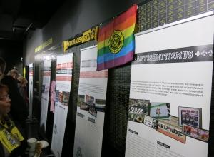 Die Ausstellungseröffnung war gut besucht