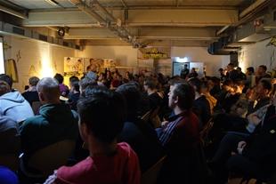 Über 100 Gäste im Lernzentrum des Westfalenstadions