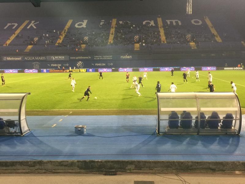 Spielszene Dinamo gegen Celtic