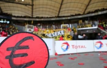 Gegen Stuttgart soll die Kurve 20 Minuten leer bleiben