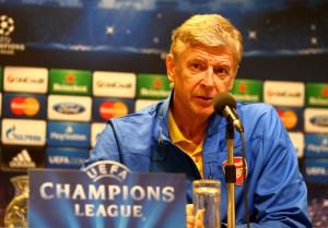 Arsene Wenger zeigte sich optimistisch
