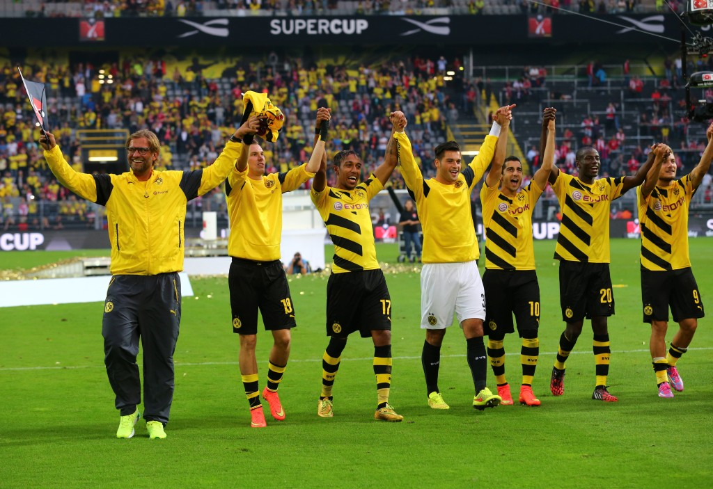 the Supercup winners