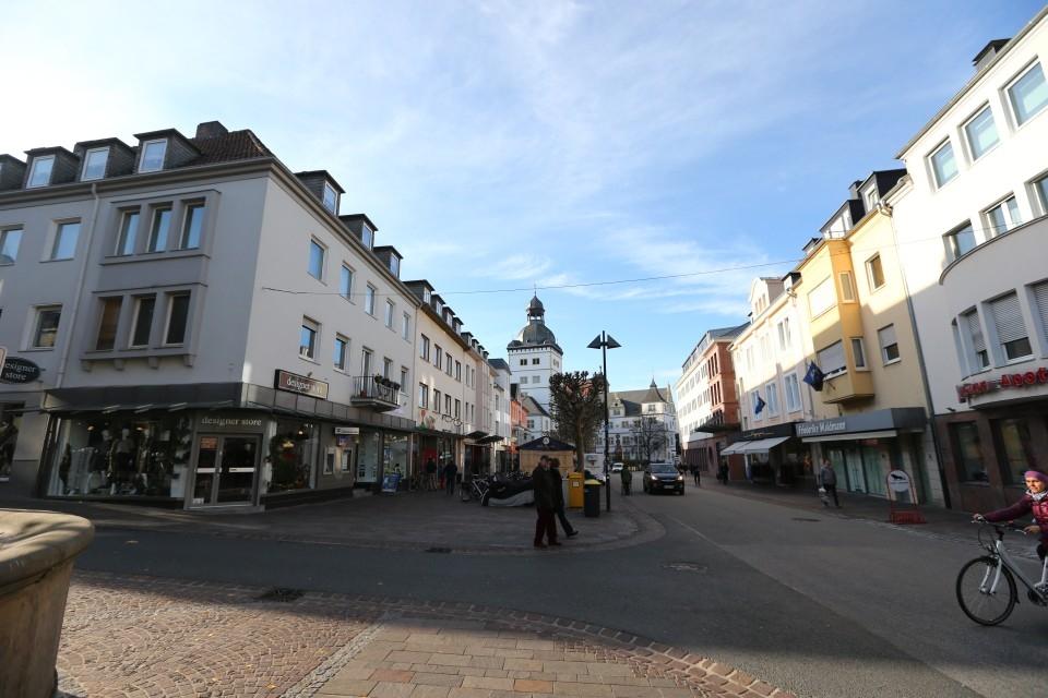 Leere Innenstadt von Paderborn-Ganz Paderborn ist in Dortmund
