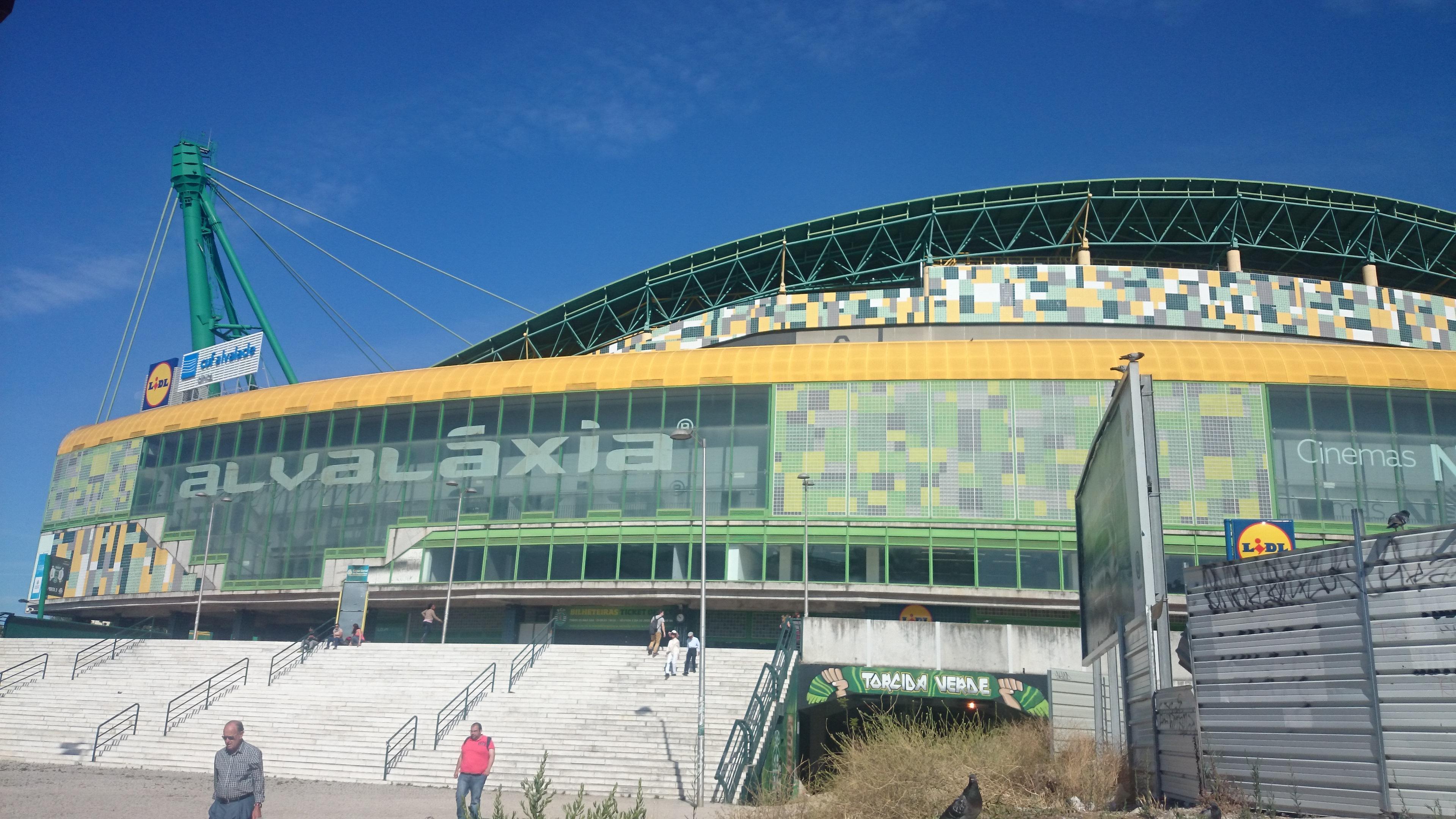 Mehr als nur ein Stadion: Die Heimspielstätte von Sporting Lissabon