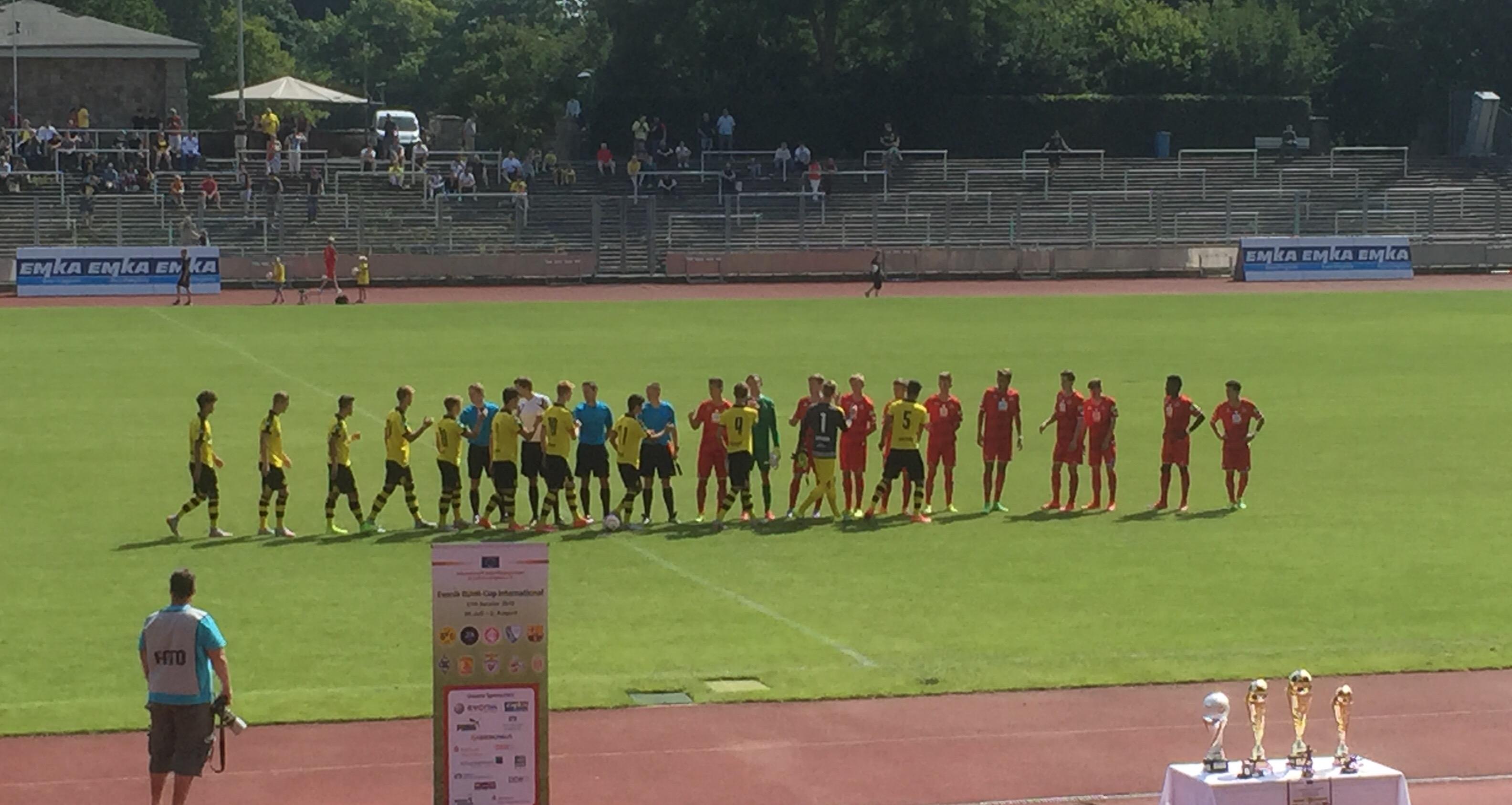 Im Vorjahr unterlag der BVB im Finale dem FC Köln