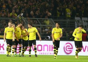 Jubel nach dem 6:1 gegen den VfB Stuttgart