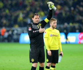 Kuba and Weidenfeller are happy