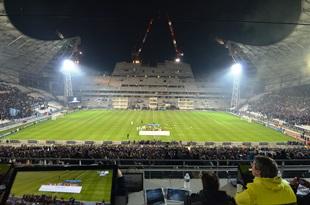 Sicht im Stade Velodrome