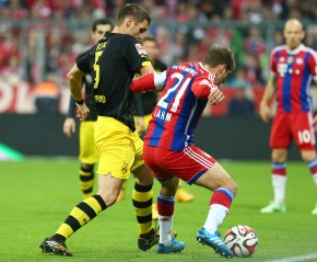 Sebastian Kehl spielte eine starke erste Halbzeit