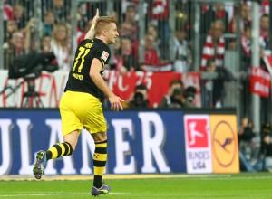 Da war die Welt noch in Ordnung - Marco bejubelt das 1-0