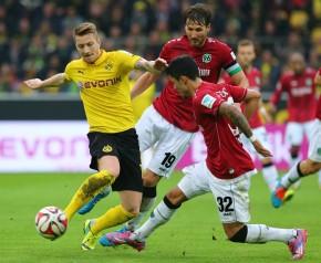 Marco Reus vergab die besten Chancen