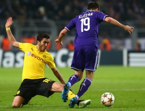 Nuri Sahin gave his comeback