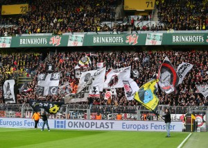 Frankfurt had great away support