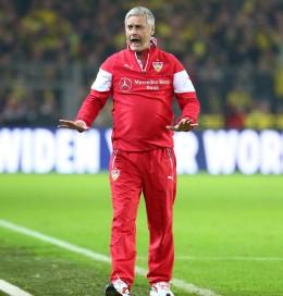 Armin veh konnte mit seinem Team zufrieden sein...