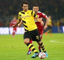 Mats Hummels gave his comeback
